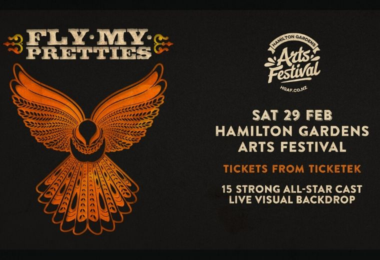 Fly My Pretties: Hamilton Gardens Arts Festival 2020