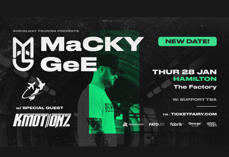 Macky Gee - NEW DATES