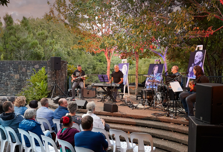 Tower of Song: Hamilton Gardens Arts Festival 2020