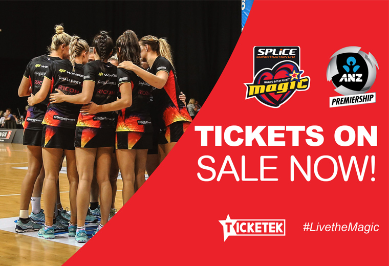 ANZ Premiership 2019 - Magic vs Mainland Tactix