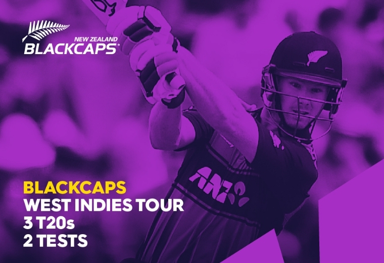 Blackcaps v West Indies - 1st Test
