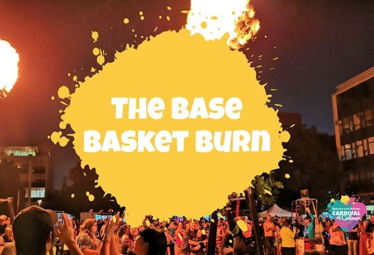 Balloons Over Waikato - The Base Basket Burn
