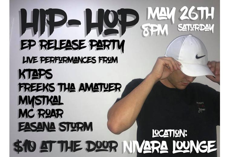 Ktaps - Hiphop EP Release Party