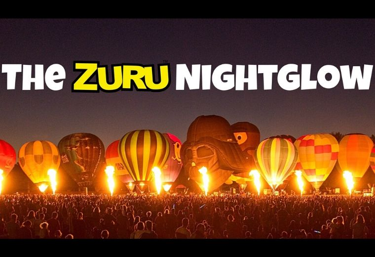 Balloons Over Waikato - The ZURU Nightglow