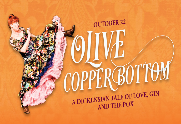 Olive Copperbottom: A Dickensian Tale of Love, Gin and the Pox