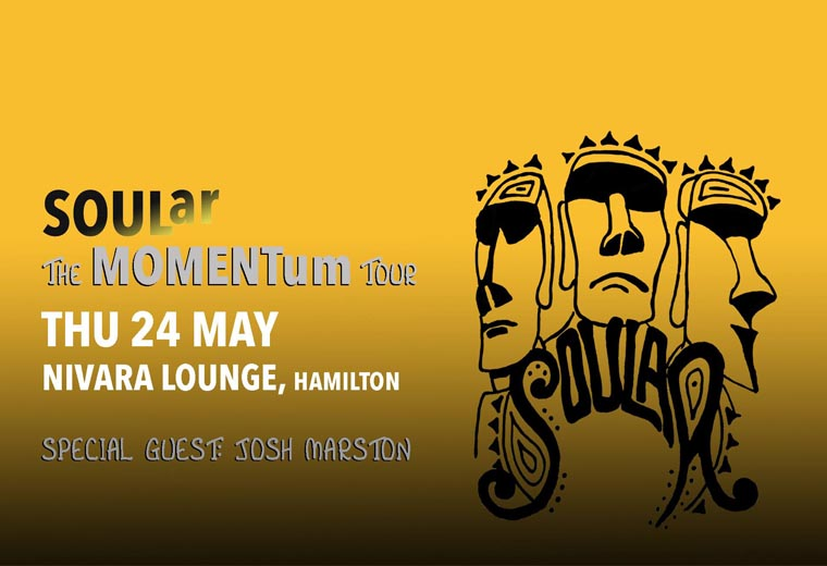 SOULar - The MOMENTum Tour with special Guest Josh Marston
